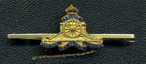RCA, Royal Canadian Artillery Sweetheart Pin