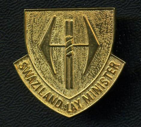 SWAZILAND LAY MINISTER Badge