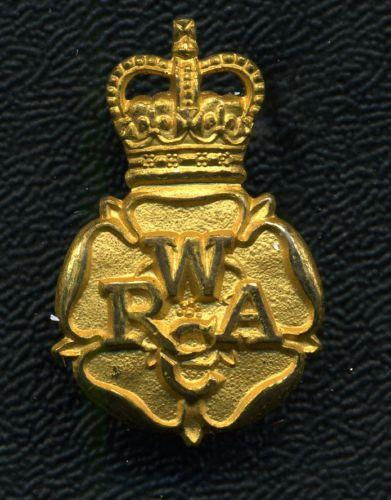 British: Women's Royal Army Corps Collar Badge