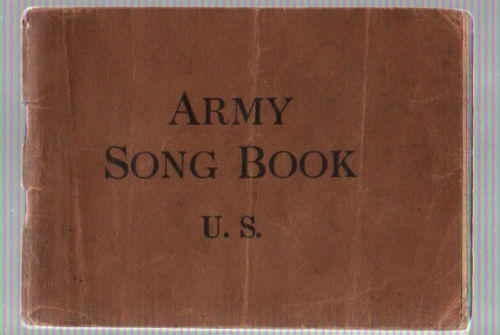 USA 1918 ARMY SONG BOOK