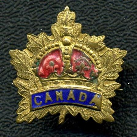 WW1 Canadian General Service Maple Leaf Sweetheart Pin