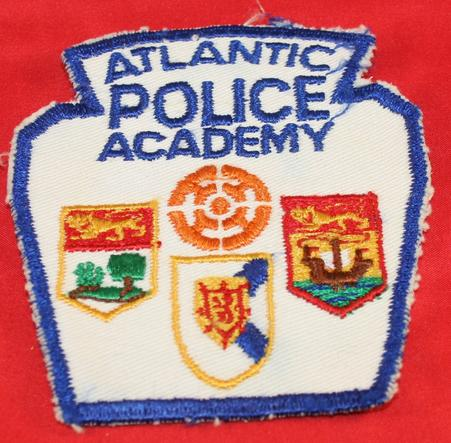 Atlantic Police Academy Shoulder Patch