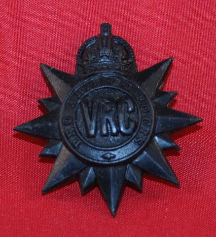 VRC Victoria Rifles of Canada Cap Badge