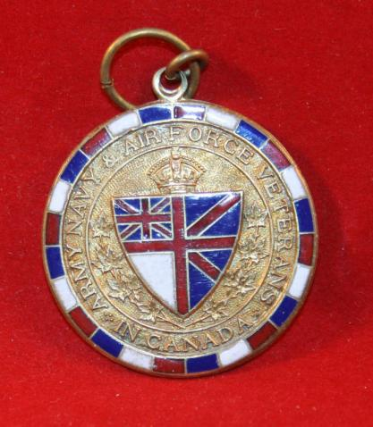Army Navy AirForce Veterans in Canada Medallion