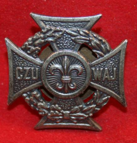 Poland, Polish Boy Scouts Badge CZU WAJ