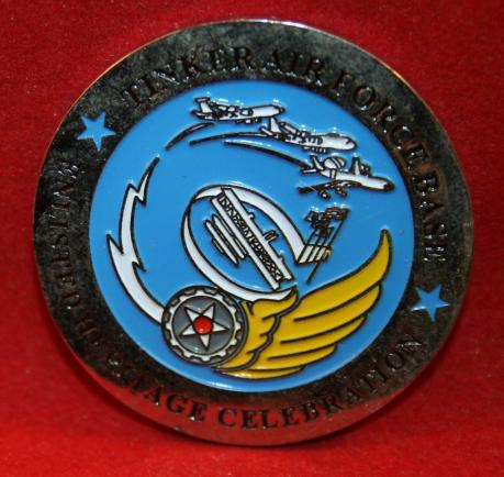 Tinker AFB Enlistment Heritage Celebration, Challenge Coin