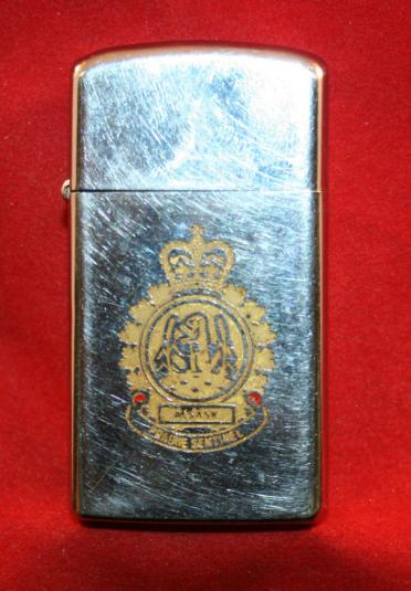 ALSASK Military Base, Saskatchewan /Alberta ZIPPO Lighter