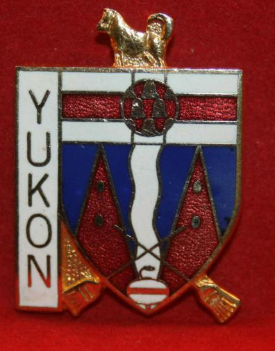 YUKON Curling Pin