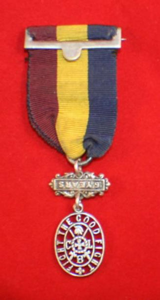 CLB, Church Lads Brigade, 5 year Service Medal