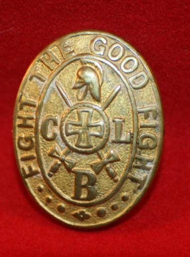 CLB, Church Lads Brigade, Officer's Collar Badge