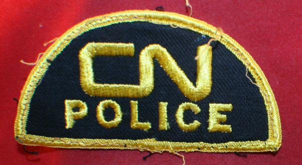 CN Police Shoulder Patch - Canadian National Railway