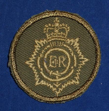 Royal Canadian Army Service Corps Combat Boonie Badge