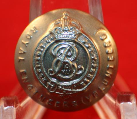 Royal Engineers (Volunteers) Uniform Button