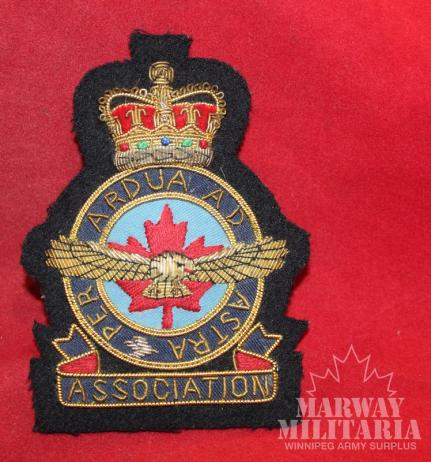 RCAF Association Blazer Crest Patch