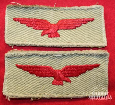 WW2 RCAF / RAF Shoulder Eagles