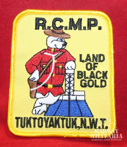 RCMP Town Patch