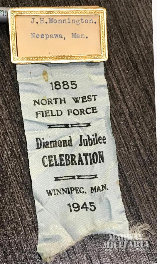 North West Field Force Reunion Ribbon and Name Bar