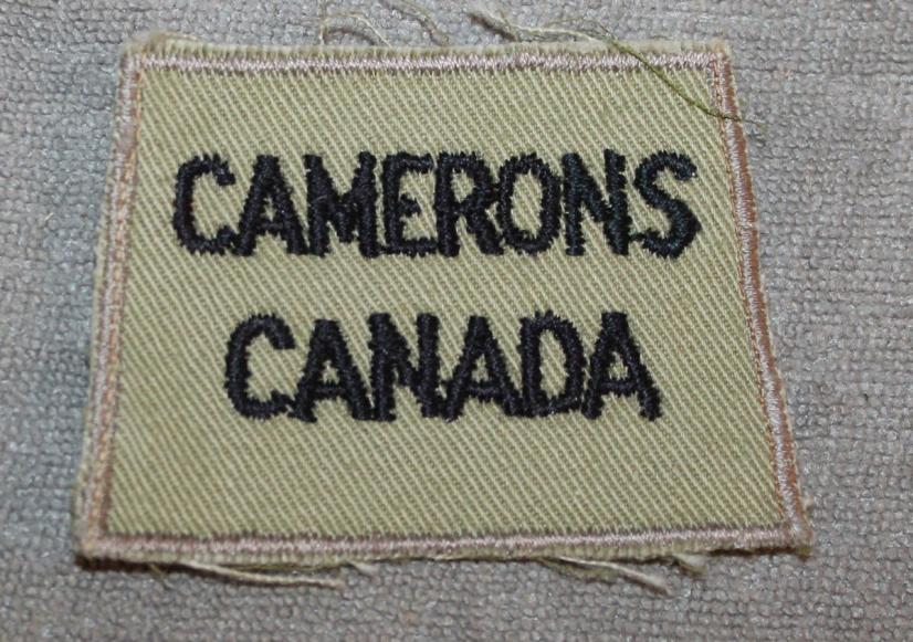 WW2 Camerons Summer Dress Slip on Title