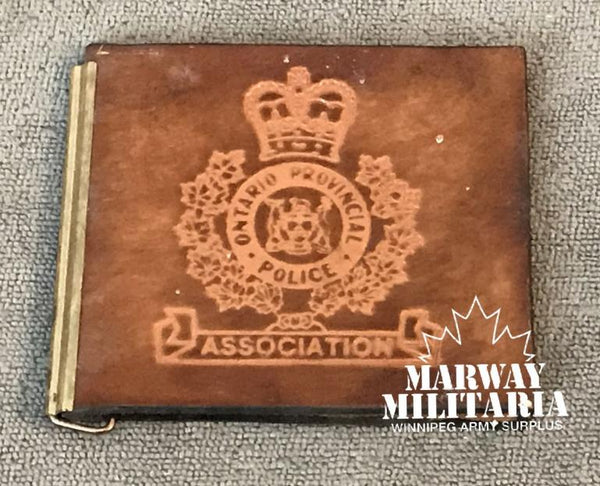 OBSOLETE, Ontario Provincial Police Association Leather Wallet