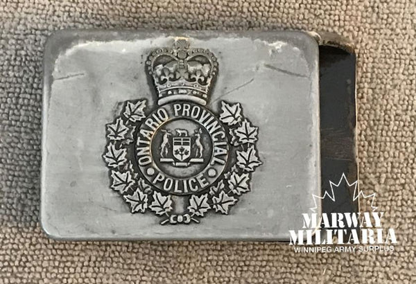 OBSOLETE, Ontario Provincial Police Belt Buckle