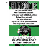 Back to School/Bully Proof Tips Card - Get Students