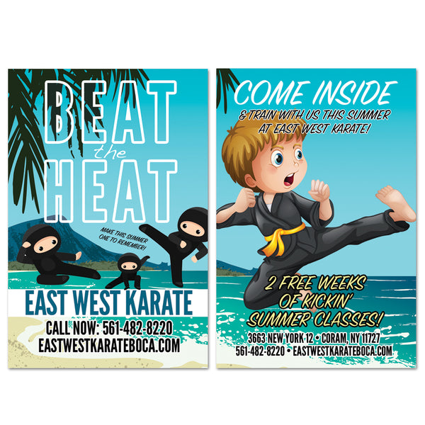 Beat The Heat AD Card - Get Students