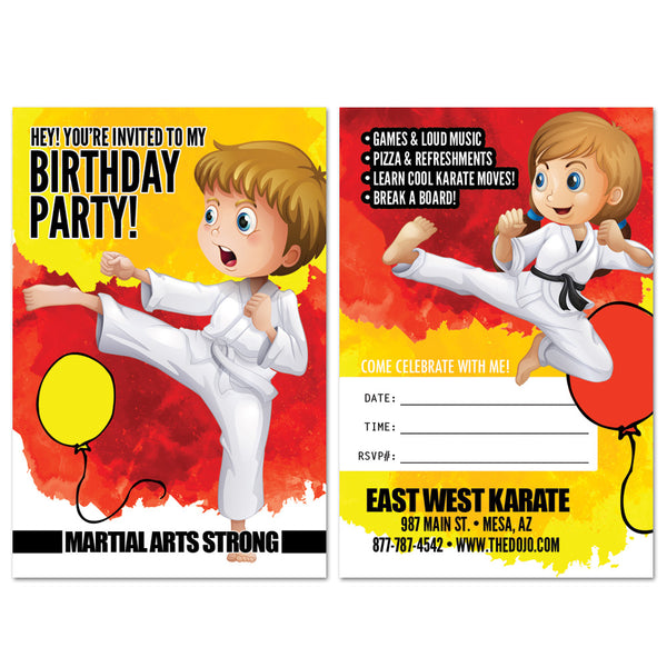 Birthday Party Invite 01 - Get Students
