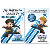 Fly Through Summer AD Card - Get Students