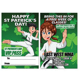 St Patrick's Day AD Card