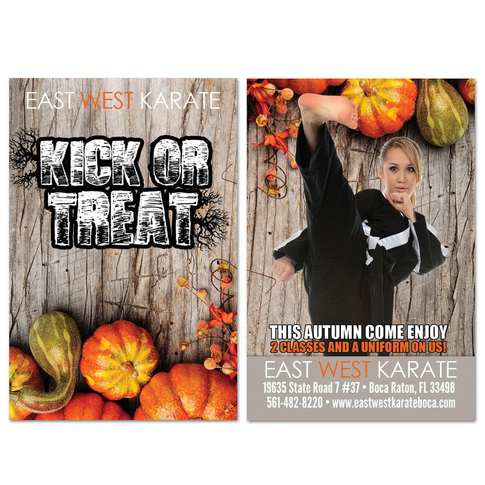 Halloween Adult AD Card - Get Students
