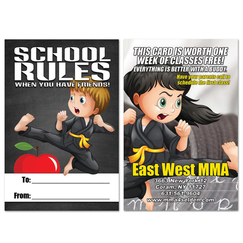 Back To School Buddy Pass 01 - Get Students