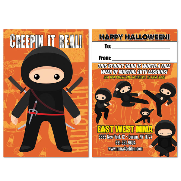 Halloween Ninja Buddy Pass - Get Students