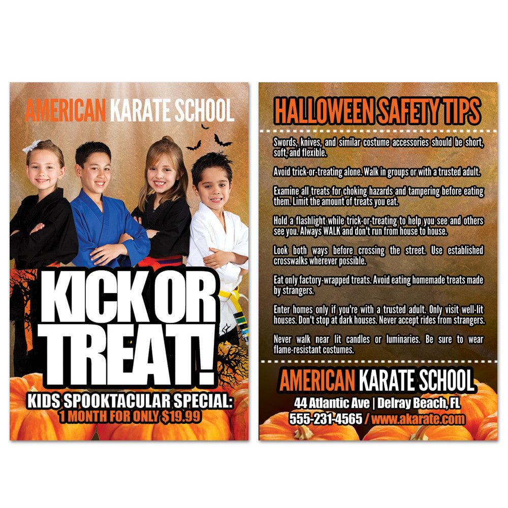 Halloween Safety Tips AD Card 01 - Get Students