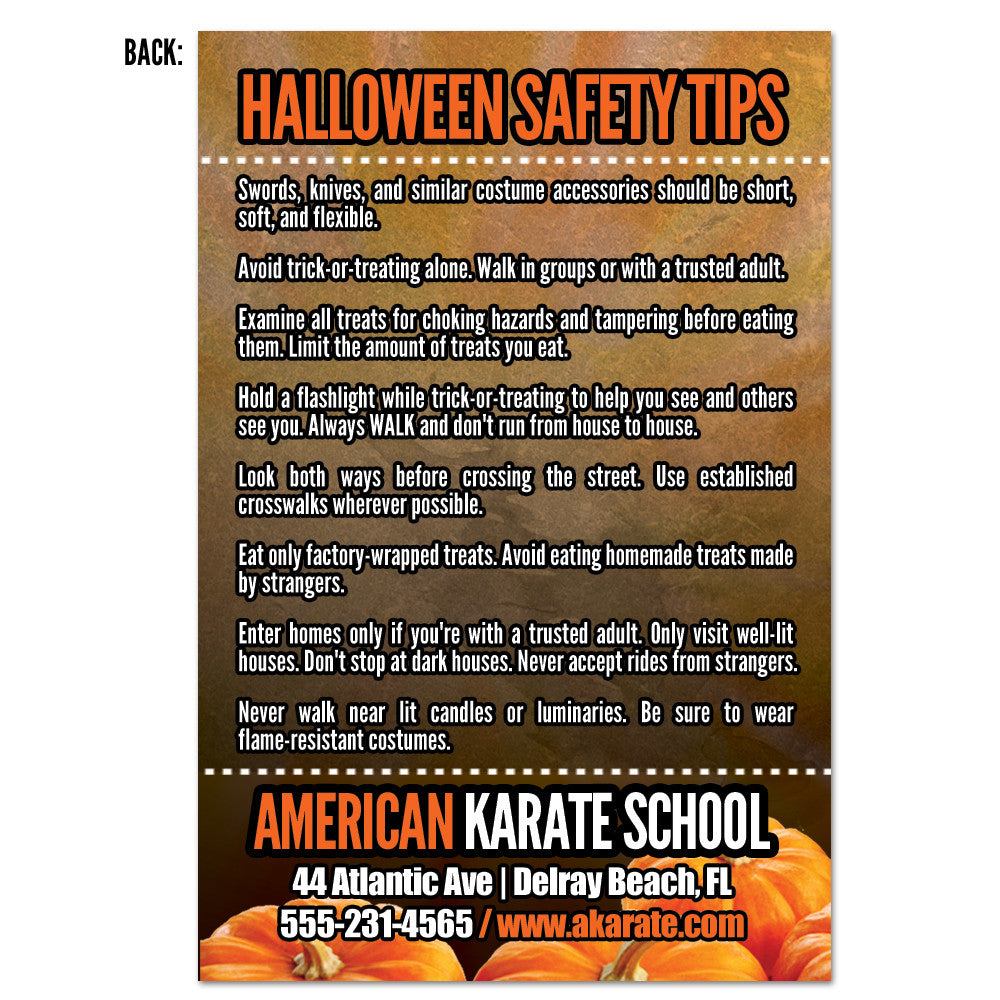 Halloween Safety Tips AD Card 01