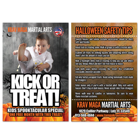 Halloween Safety Tips AD Card 02