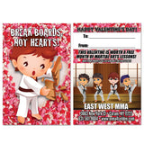 Break Boards Valentine AD Card - Get Students