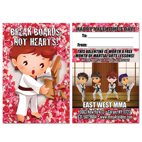 Break Boards Valentine AD Card