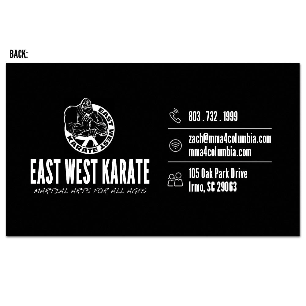 The Martial Arts Business Card 03