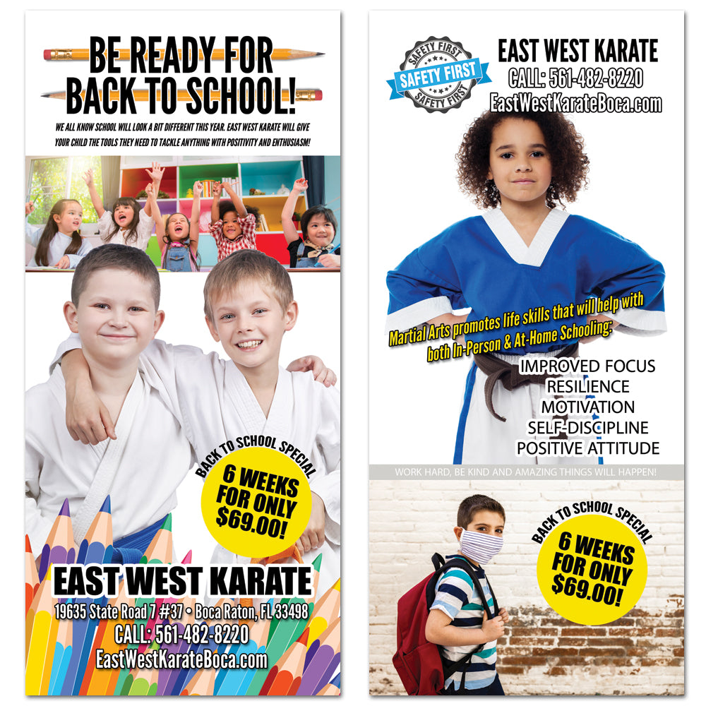 2020 Back To School Rack Card - Get Students