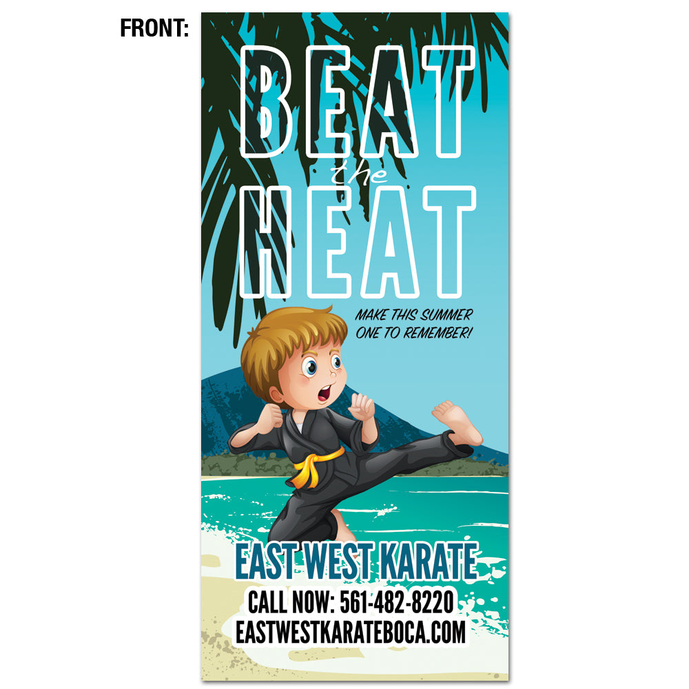 Beat The Heat Rack Card