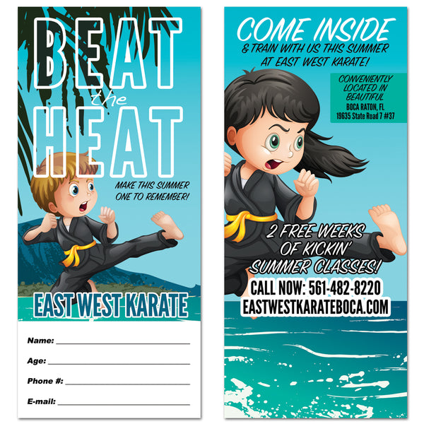 Beat The Heat Tear Off Card - Get Students