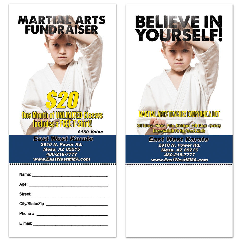 Believe In Yourself Tear Off Card - Get Students
