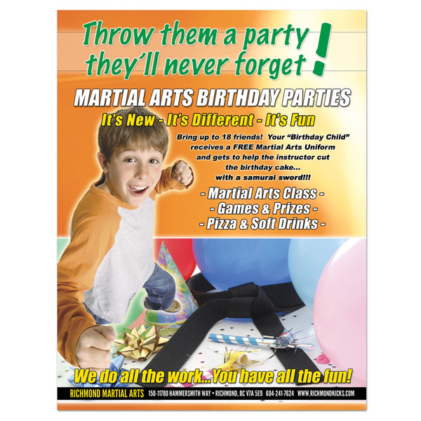Birthday Party Flyer 02 - Get Students