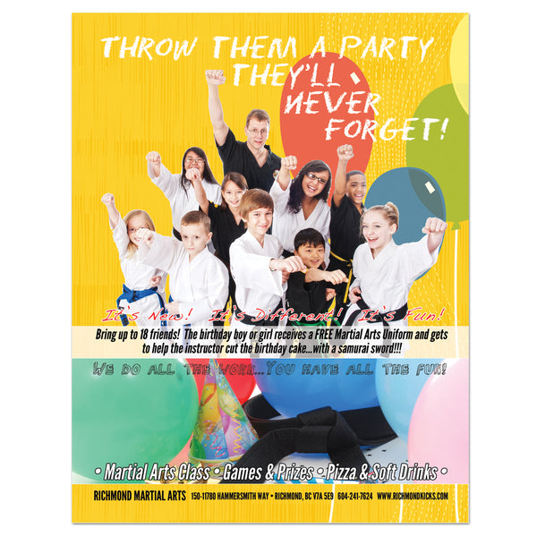 Birthday Party Flyer 01 - Get Students