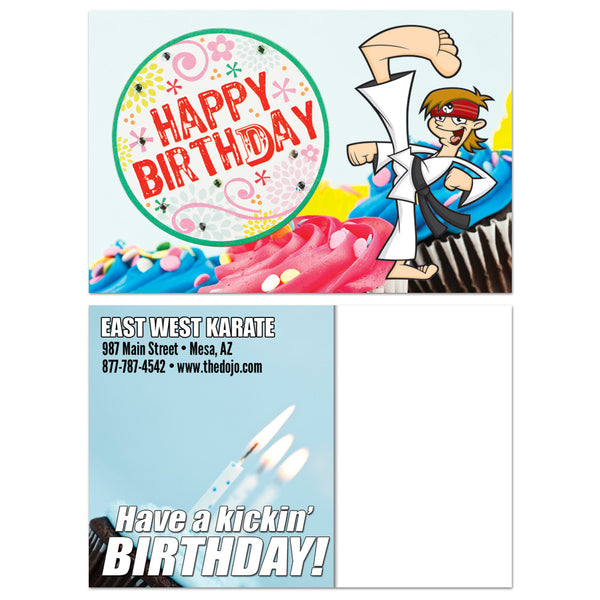 Happy Birthday Postcard 01 - Get Students