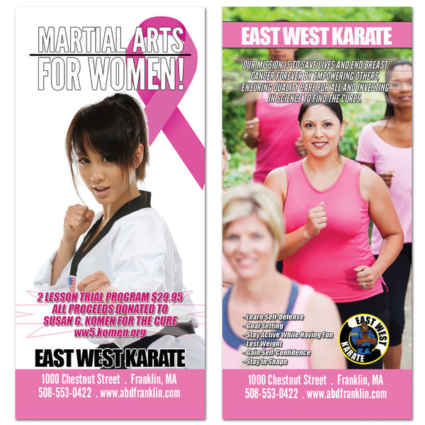 Breast Cancer Awareness Rack Card