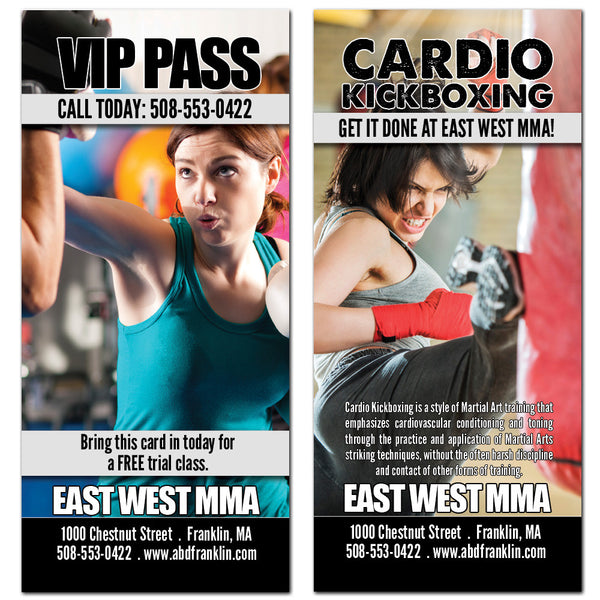 Cardo Kickboxing Rack Card