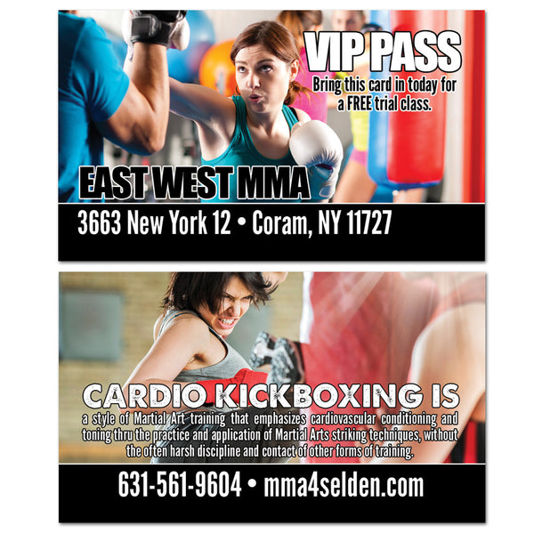 Cardio Kickboxing VIP Card - Get Students