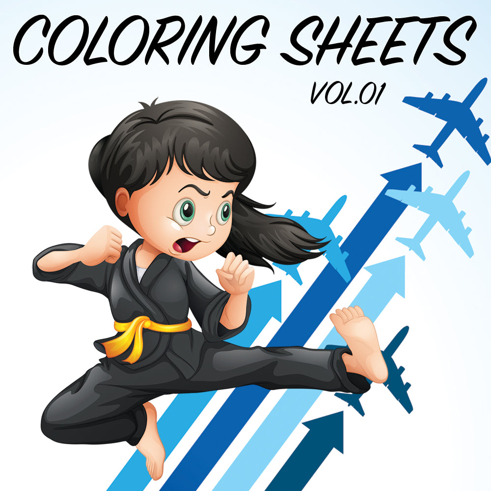 Coloring Sheets Vol.01 - Get Students