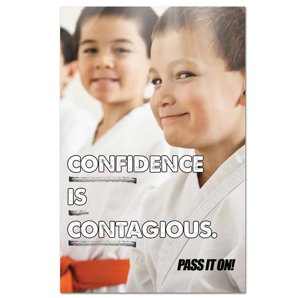 Confidence Is Contagious Banner - Get Students